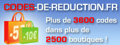 Codes-de-reduction.fr : 3600 codes promo chez plus de 2500 boutiques