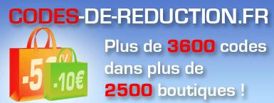Codes-de-reduction.fr : 3600 codes promo chez plus de 2500 boutiques